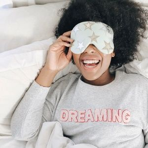New Free People Starry Eyed Travel Eye Mask